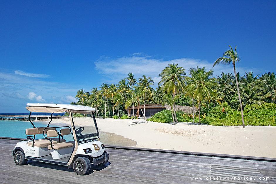 Pronájem golfové buggy na Maledivách