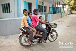 Rodinná projížďka na Thoddoo