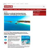 Reportáž a rozhovor, Maledivy, Noviny.sk