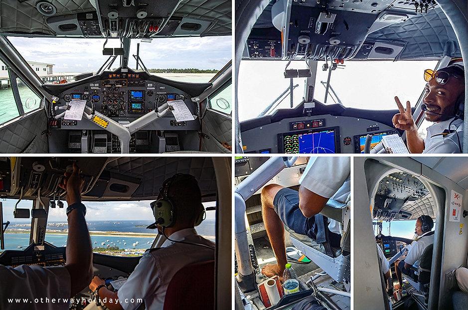 Bosí piloti na Maledivách aneb Barefoot Pilotes in Maldives