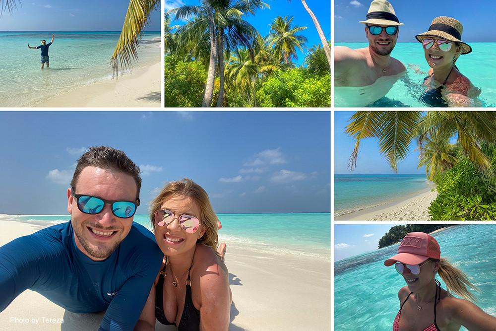 Maledivy s Lucií aneb Maledivy s česky hovořící průvodkyní