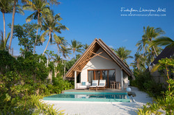 Fushifaru Maldives, Pool Beach Villa Sunset