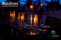 Flickr - Candle Light Dinner on the Beach