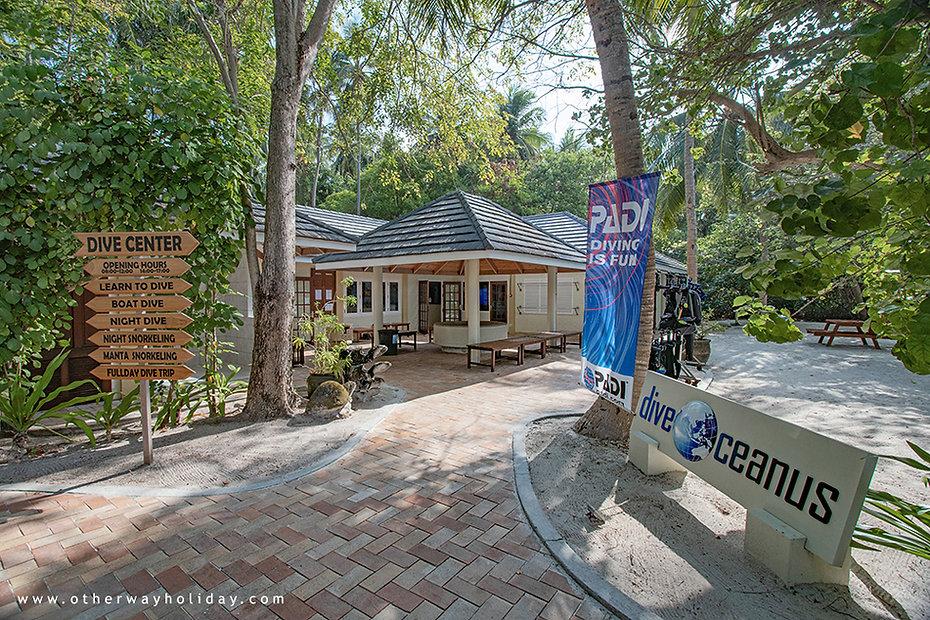 Royal Island Resort & Spa, potápění,  DiveOceanus, Ma