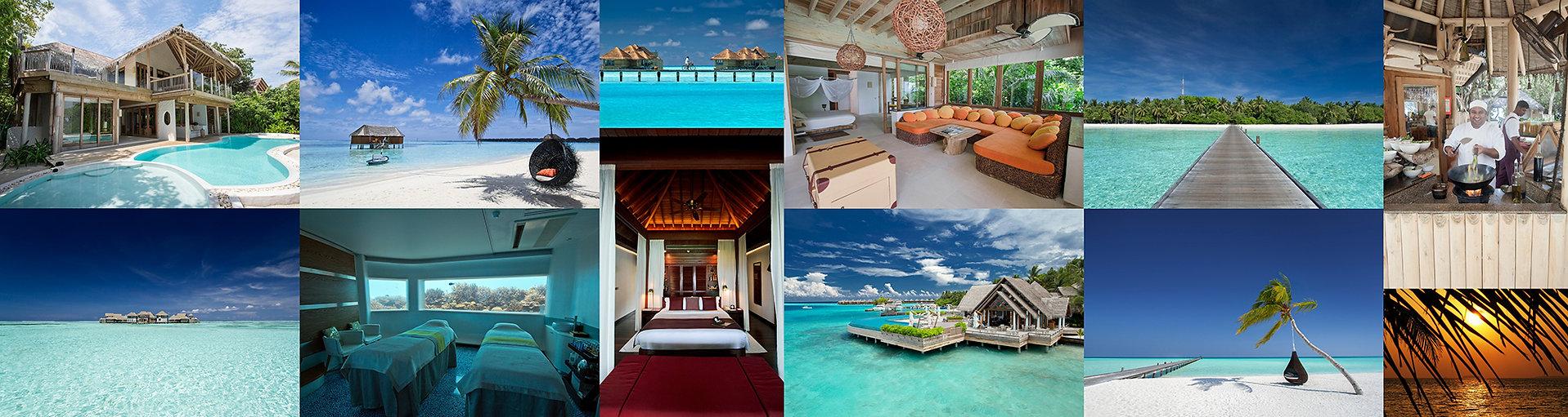 Resorty, Maledivy, resorty na Maledivách