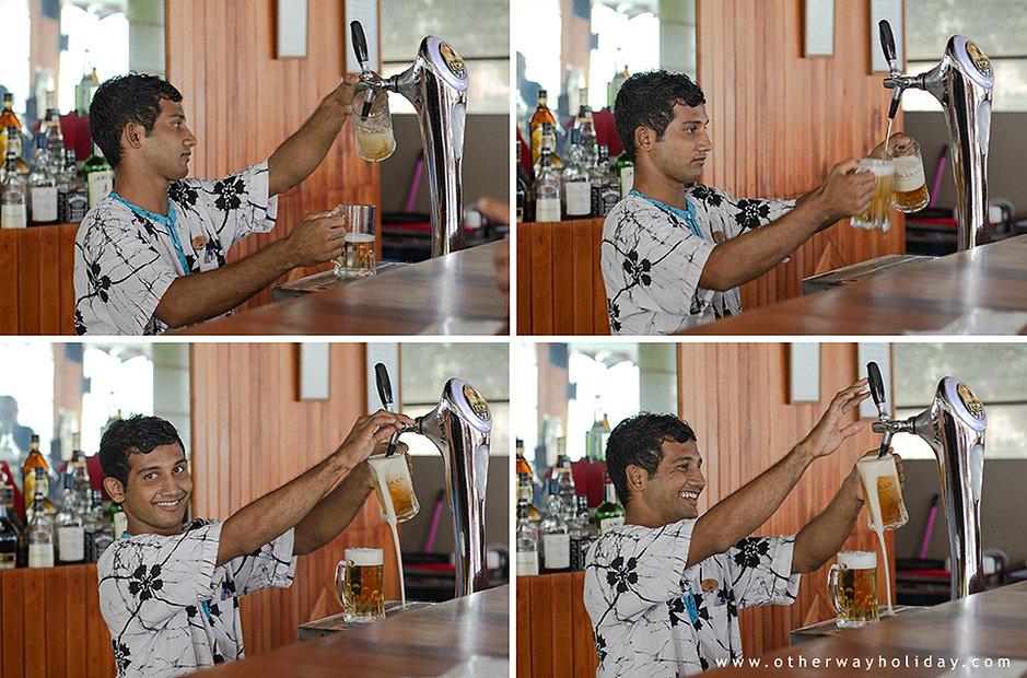 Alkohol na Maledivách, celní předpisy