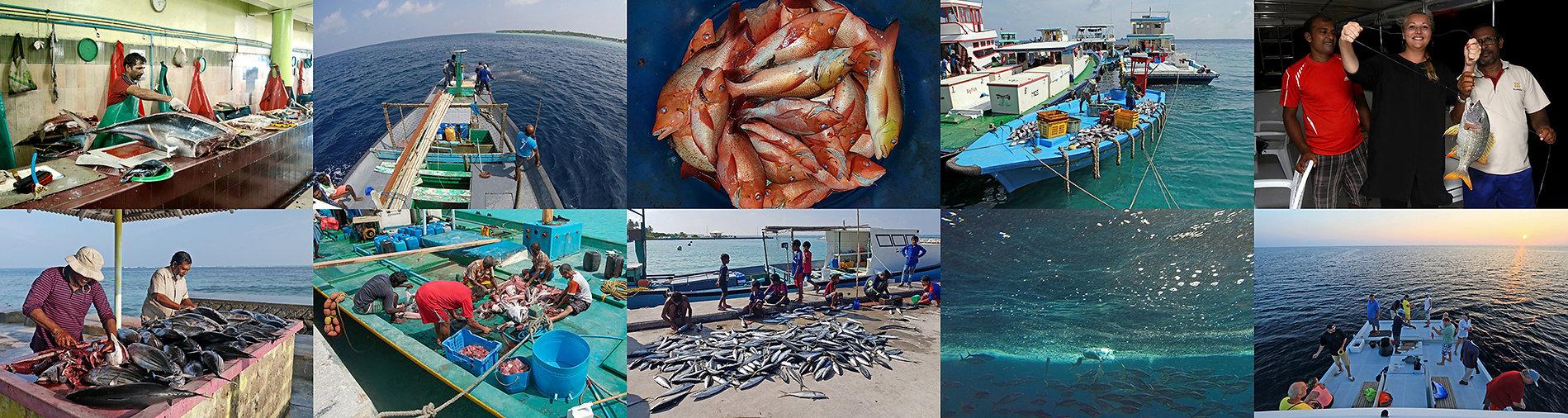 Dovolená na s rybolovem na Maledivách