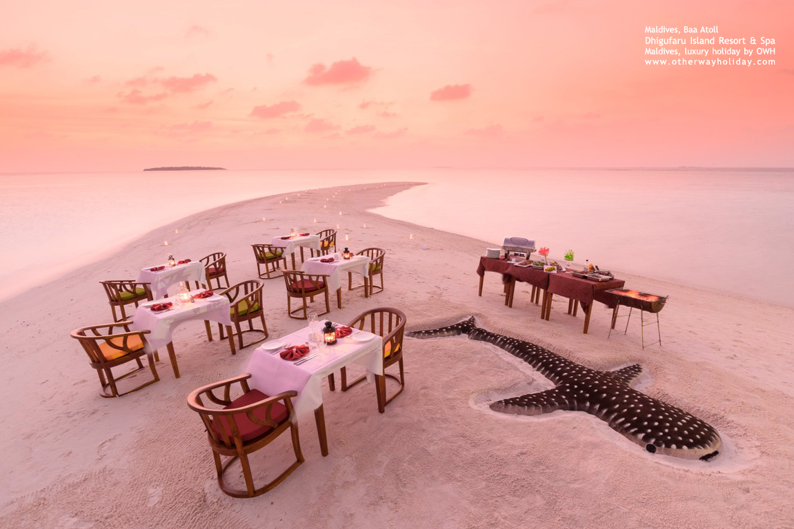 Dhigufaru Island Resort, Baa Atoll, Maldives - Sand Bank Veli