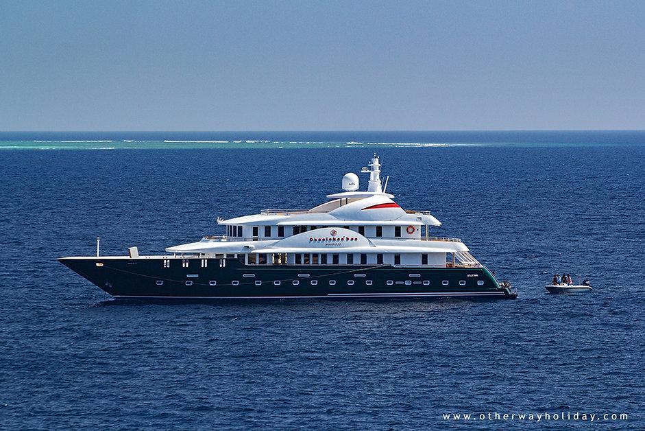Pronájem jachet na Maledivách