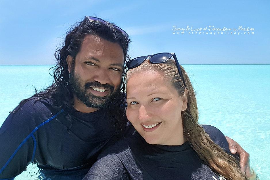 Lucie Mohelníková, Maledivy