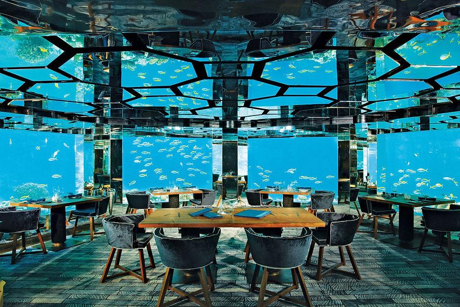 The Sea, Anantara Kihavah Maldives Villas, Maledivy