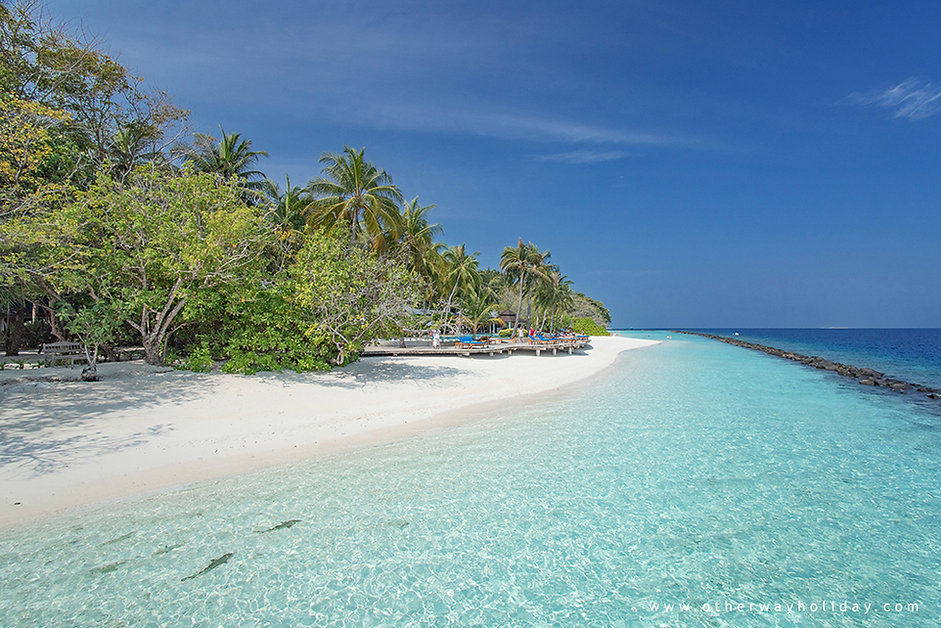 Royal Island Resort & Spa, pláž, Baa atol, Maledivy
