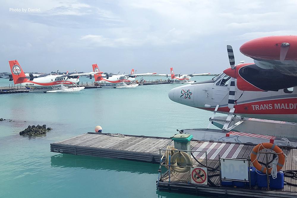 Hydroplány Trans Maldivian Airlines, Maledivy