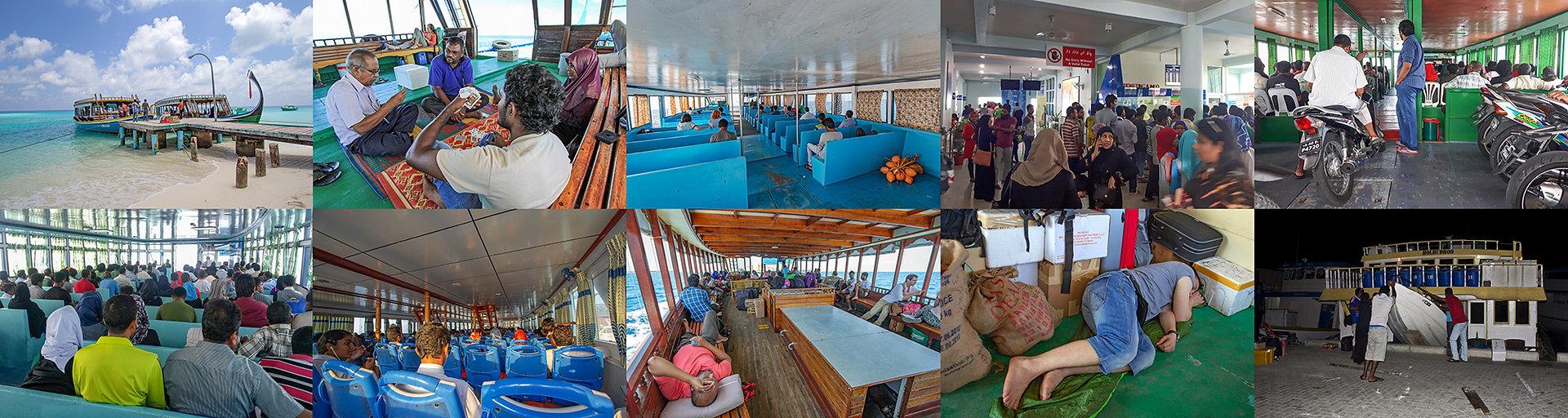 Cestování veřejným trajektem, Maledivy public ferry
