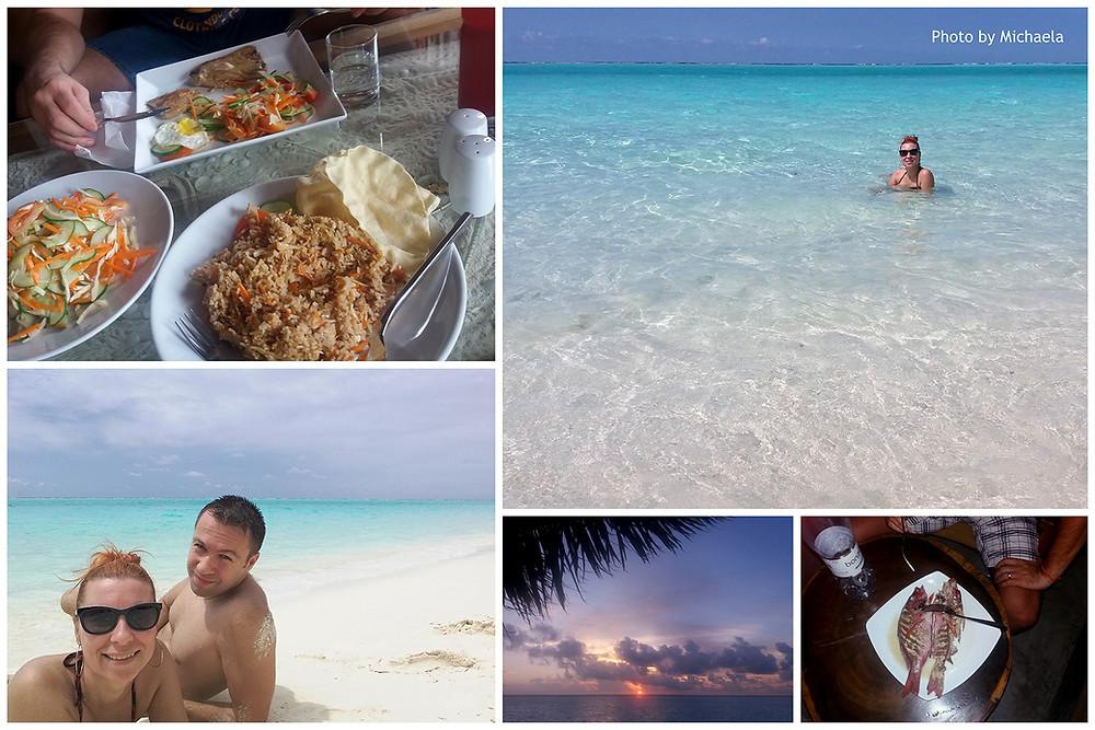 Dhiffushi, severní Male atol, Maledivy