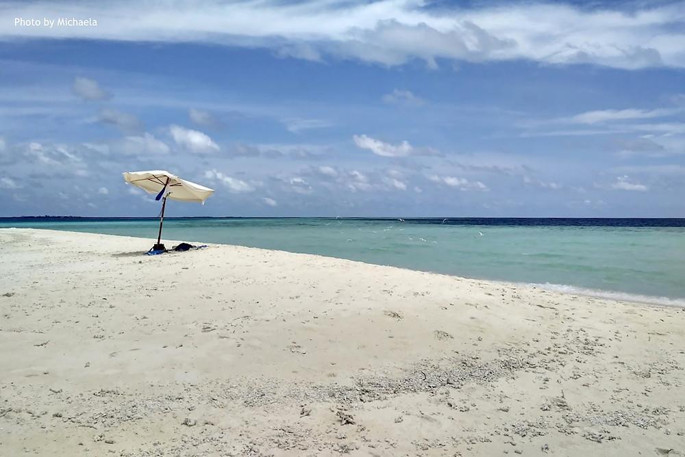 Sand Bank, Dhiffushi, severní Male atol, Maledivy