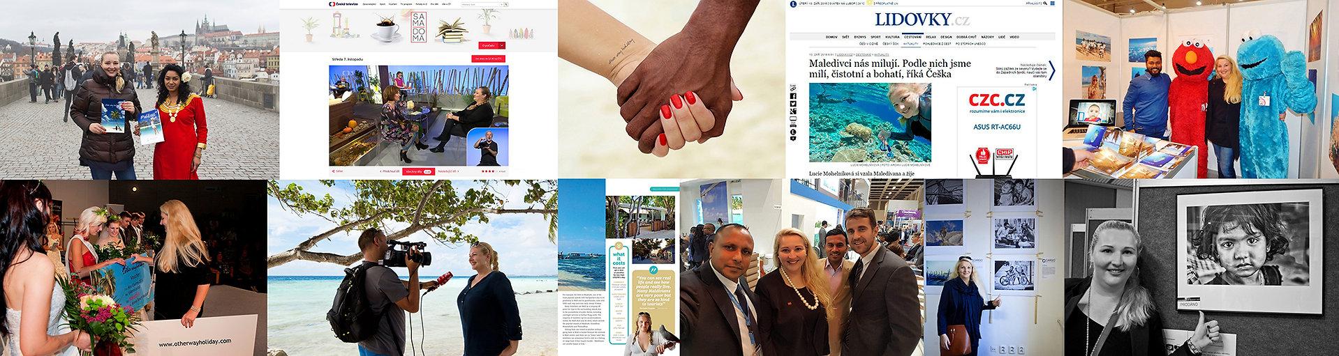 other way holiday, Maledivy, média, časopisy, magazíny a televize