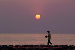 Západ slunce na Maafushi