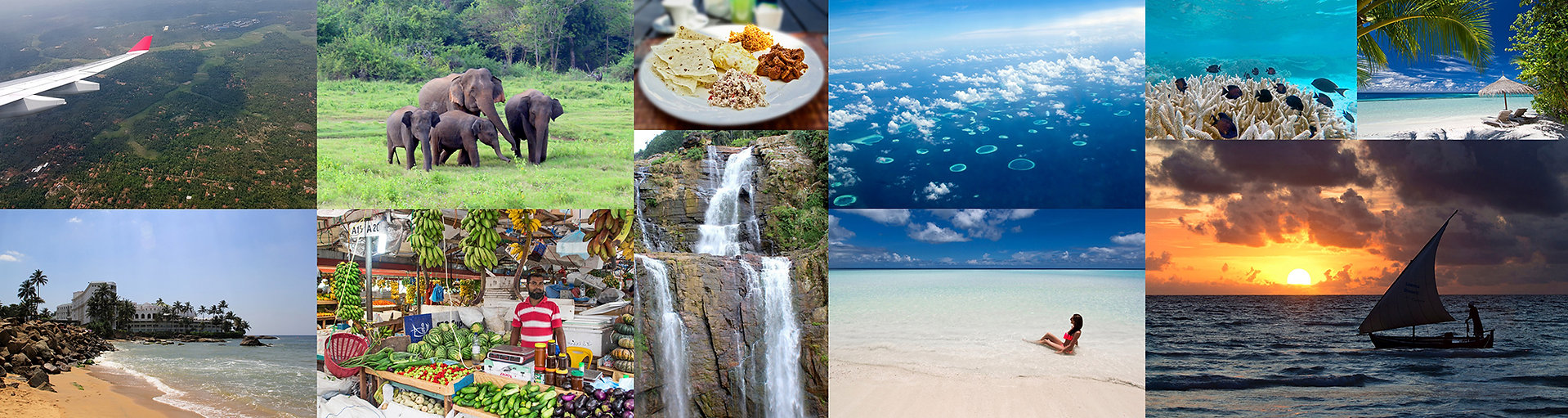 Poznávací zájezdy Srí Lanka a Maledivy