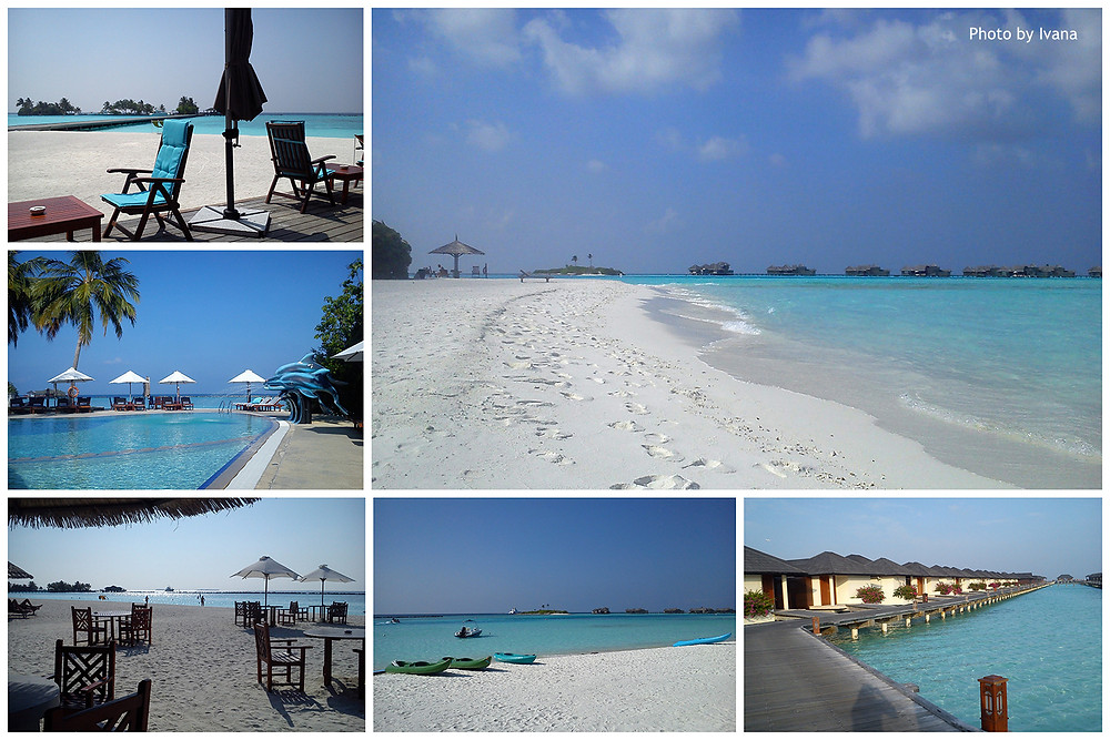 Paradise Island Resort & Spa, sevení Male atol, Maledivy