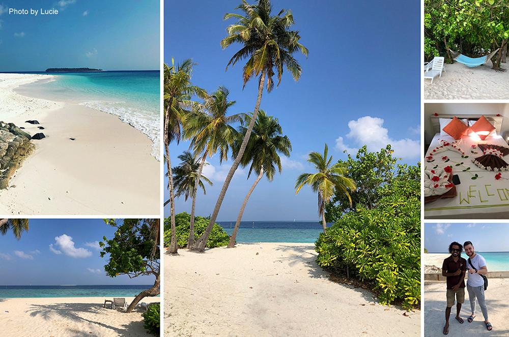 Fodhdhoo na Noonu atolu na Maledivách.