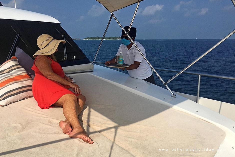 Preventivní opatření proti Covid-19, jarchta Fascination Maldives