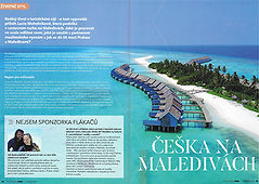 Psychologie Dnes, Maledivy, Lucie Mohelníková