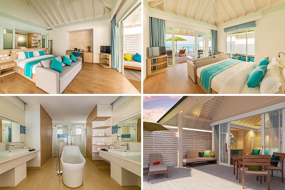 Water Villa with Pool, Siyam World, Noonu atol, Maledivy