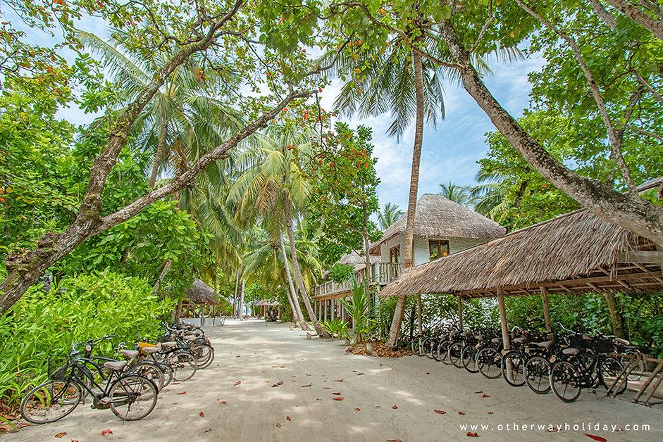 Pronájem kol, Soneva Fushi, Baa atol, Maledivy