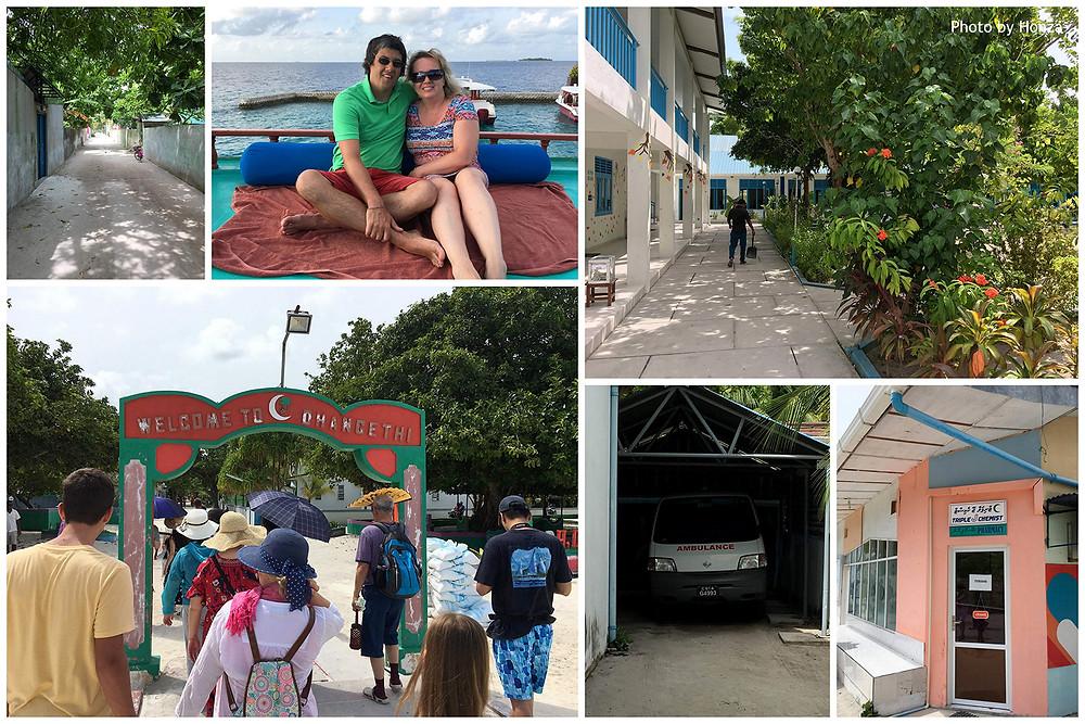 Maledivy - výlet na obydlený ostrov Dhangethi