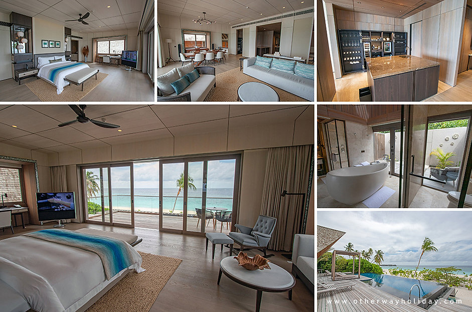 St. Regis Vommuli, 2 Bedroom Beach Suite