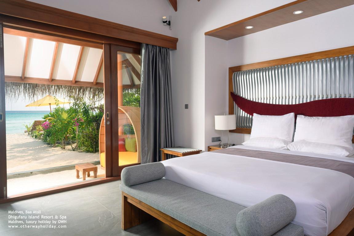 Dhigufaru Island Resort, Baa Atoll, Maldives_48 -Beach Villas