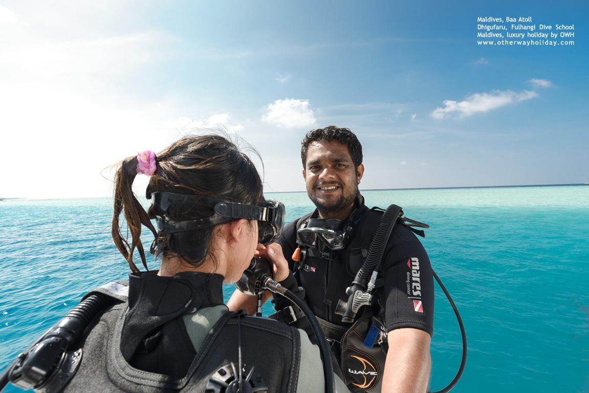 Dhigufaru Island Resort, Baa Atoll, Maldives - Fulhangi Dive School