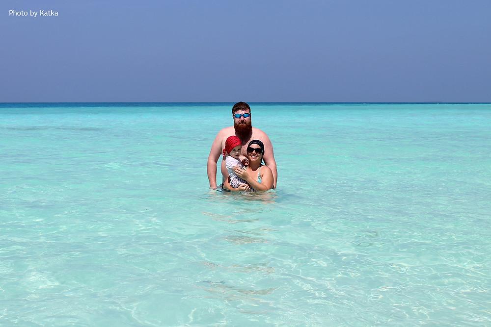 Sand Bank - mělčina - Maledivy
