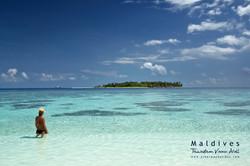 Maldives, Thinadhoo, Vaavu Atoll, Plumeria Boutique