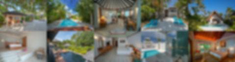 Plážové vily, plážové bungalovy, Maledivy
