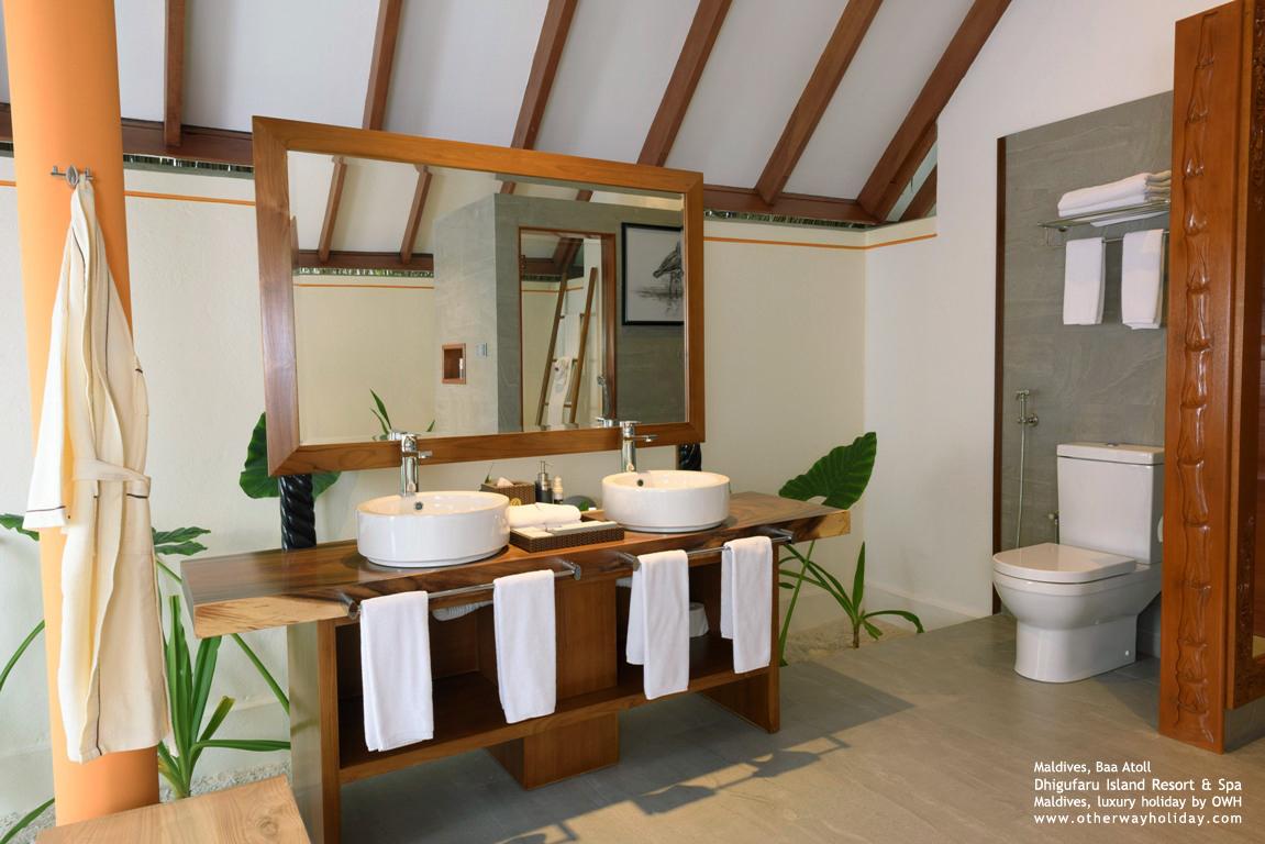 Dhigufaru Island Resort, Baa Atoll, Maldives - Semi Water Villas