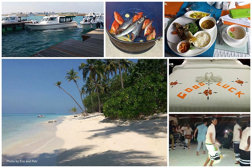 Maledivy s Lucií aneb Maledivy s česky hovořícím průvodcem