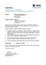 Pojistka na pojištění záruky pro případ