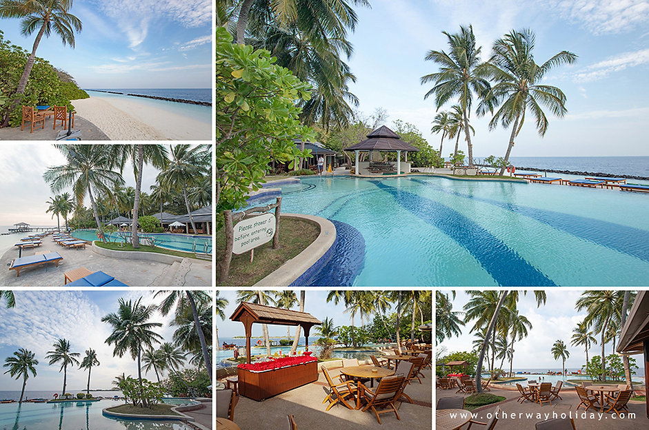 Royal Island Resort & Spa, bazén, Boli Bar, Maledivy