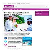 Svatba na Maledivách, Martin Krpač,Topstar.sk