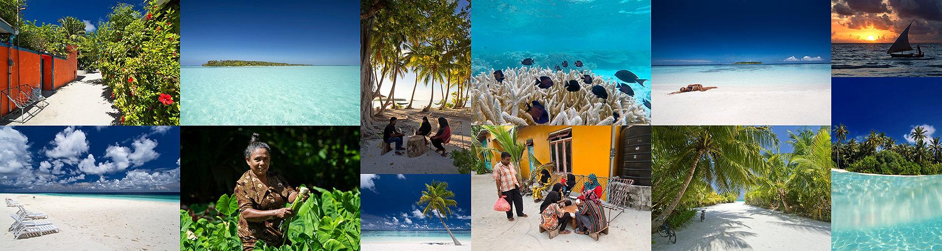 Dovolená na obydlenách lokálních ostrovech na Maledivách