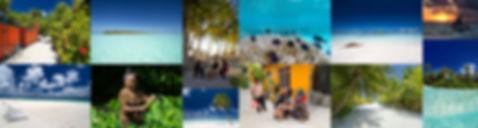 Obydlené lokální ostrovy na Maledivách