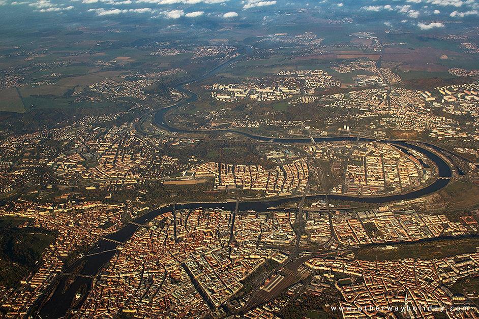 Praha, let z Prahy na Maledivy