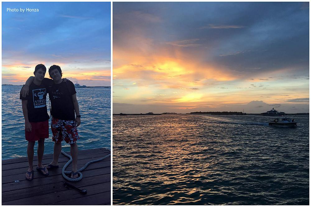 Maledivy - Marina na Hulhumale