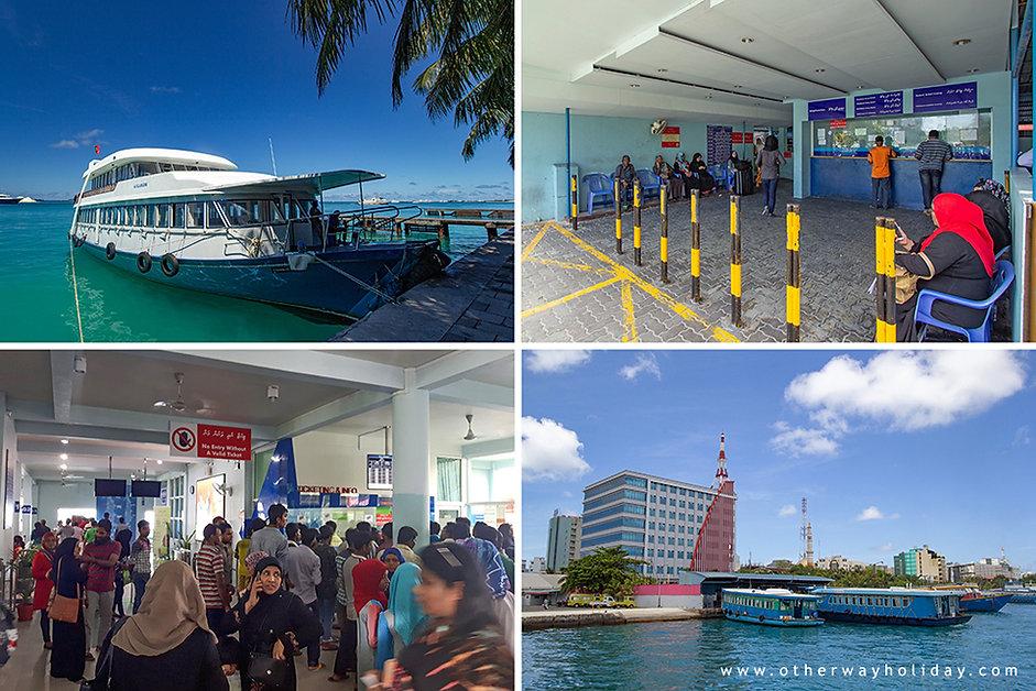Ferry Terminál, terminál trajektů Maledivy