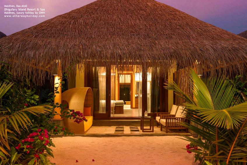 Dhigufaru Island Resort, Baa atol