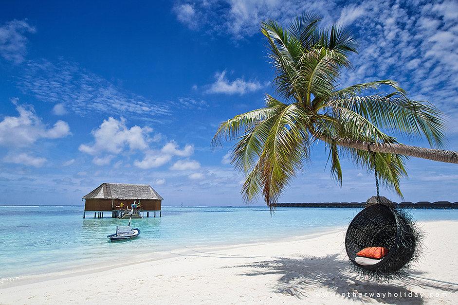 Vodní vila, Meeru, Maledivy