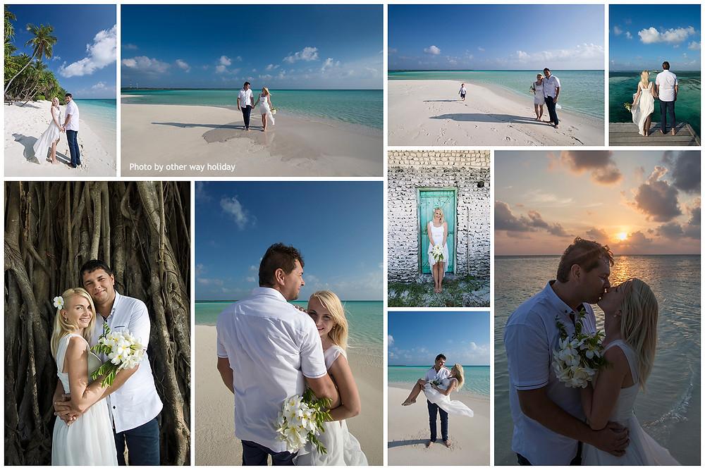 Portréty na pláži, Fehendhoo, Maledivy