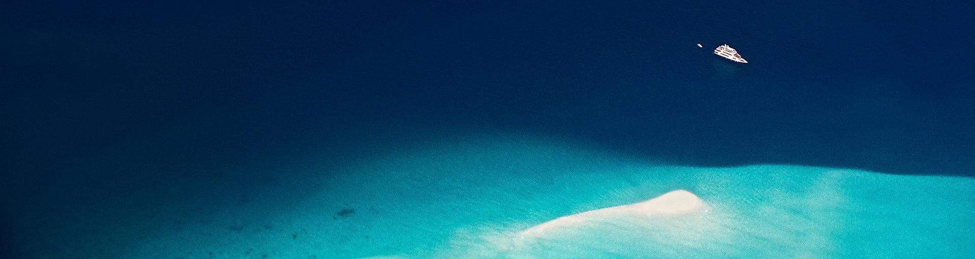 Sandbank, písečná mělčina, Maledivy